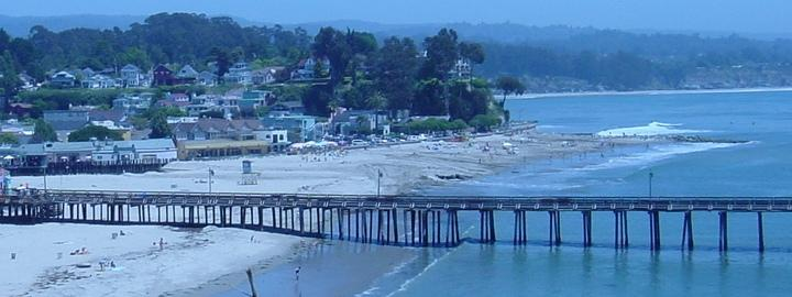 View of Capitola Wharf